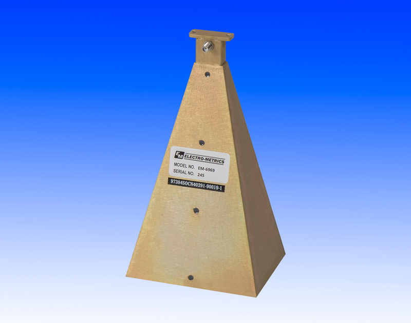 Electro-Metrics has introduced the EM-6969 Antenna